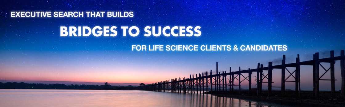 We Build Bridges to Success for Life Science Clients and Candidates