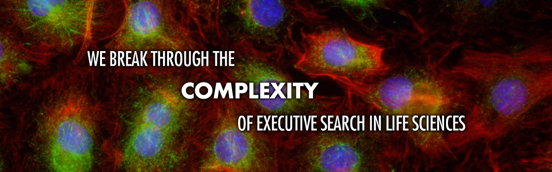 We Break Through the Complexity of Executive Search in Life Sciences