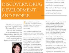 Life Science Ionis Chase Group Case Study