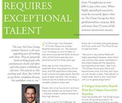 Executive Search Ipsen Client Profile
