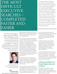 Genmab TCG Client Profile Case Study